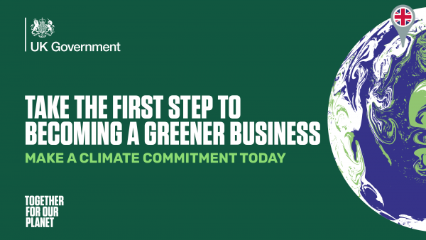 UK Government Together for our Planet graphic