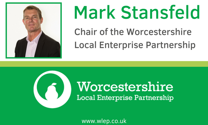 Electronic Signature, Worcestershire LEP Chair Mark Stansfeld