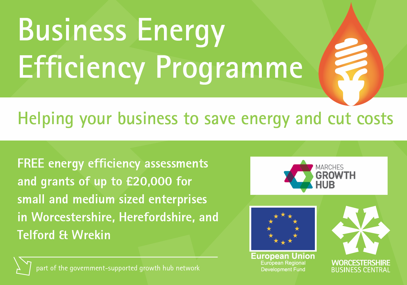 Funding Available To Help Businesses Save Energy And Cut