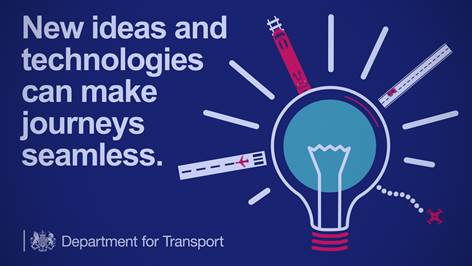 DfT, Future of Mobility challenge infographic