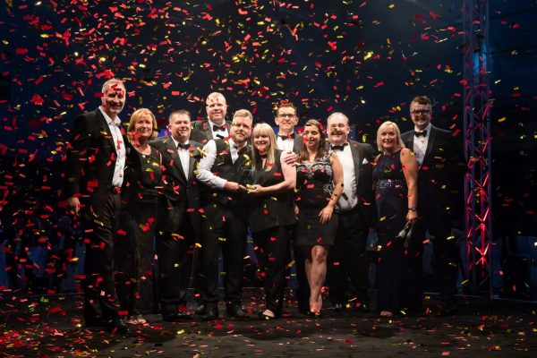 Vision Labs, winners of business of the year at the HW Business Awards 2018